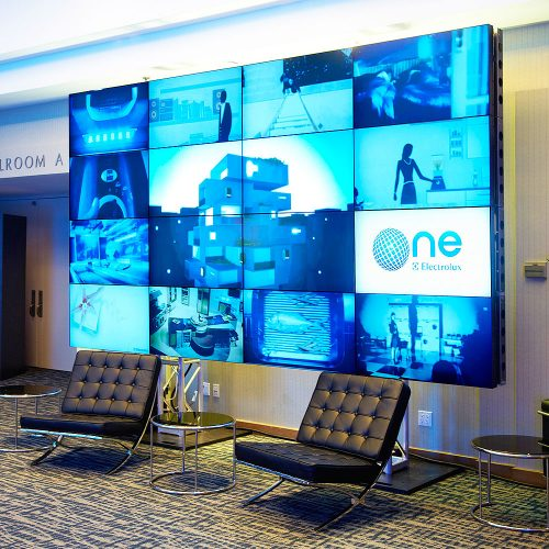 video walls rental