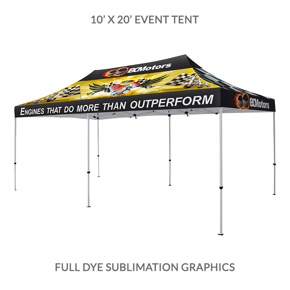branded event tents; 20u0027 printed tent ...  sc 1 st  ADfab Exhibits & Promotional Event Tents | Branded Outdoor Exhibits | Toronto Canada
