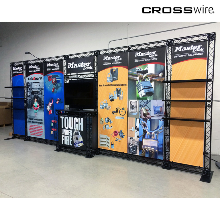 crosswire truss 20' exhibit