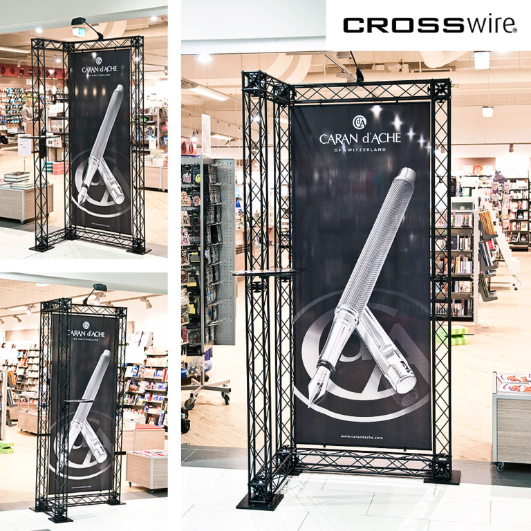 portable truss display