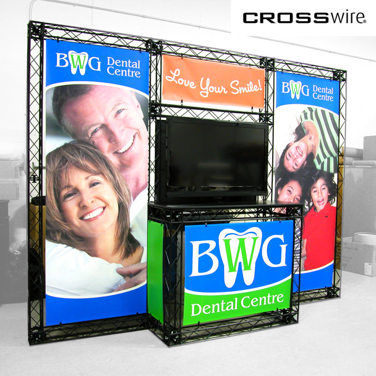 crosswire truss display