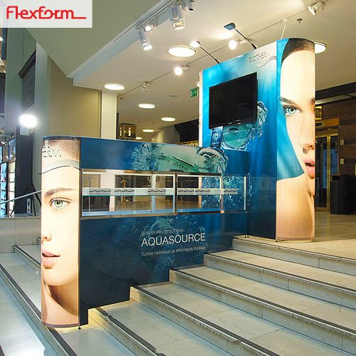 flexform modular booth custom