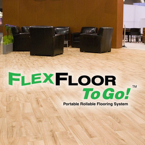 flexfloor trade show flooring