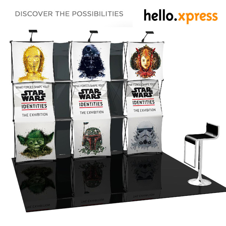 fabric hello xpress booth