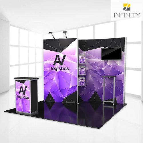 10' SEG custom booth