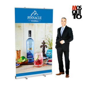 "48"" banner roll-up"