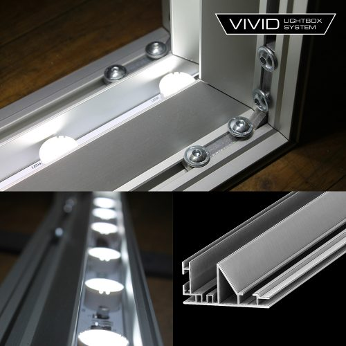 Vivid lightbox extrusion