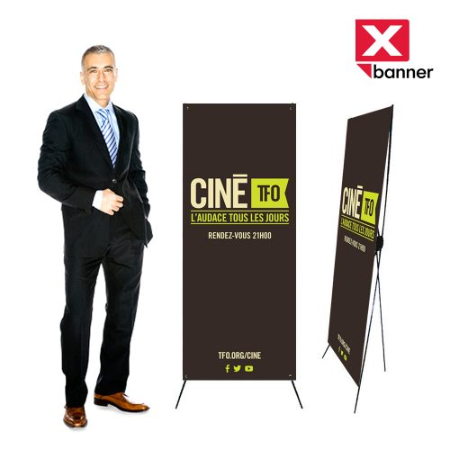 X-Banner stand tension back