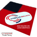 velcro on carpet graphics