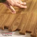 wood looking foam tiles