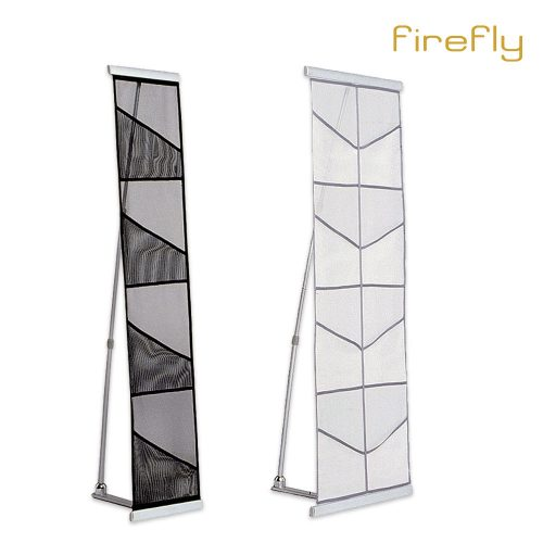 firefly mesh brochure stand
