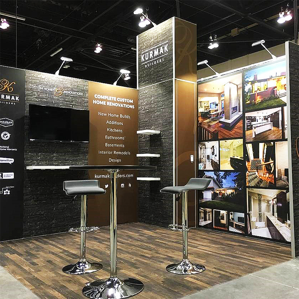 Corner Exhibition Stands Canada : Trade show displays modular booths panoramic toronto